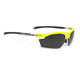 Rudy Project Rydon Okulary rowerowe, yellow fluo gloss - rp optics smoke black